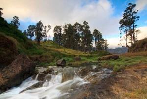 Hot Spring - Rinjani Mountian