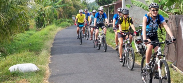 Biking in Lombok Villages