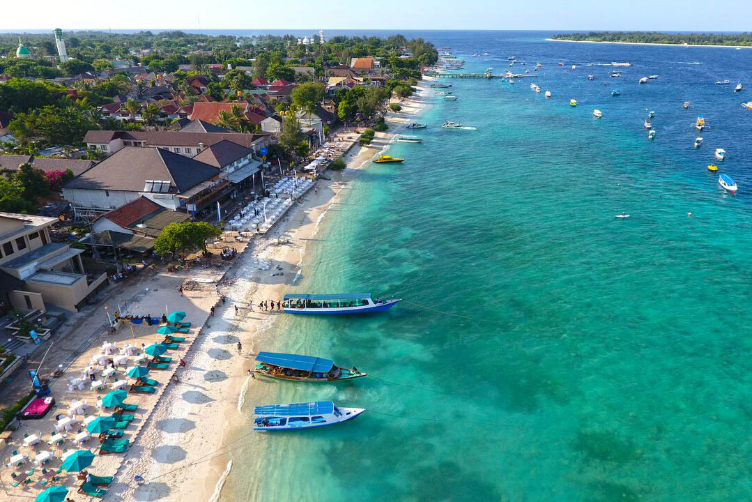 North Gili island