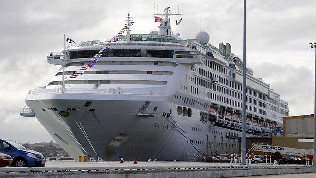 Lombok welcomes Sun Princess cruise ship passengers