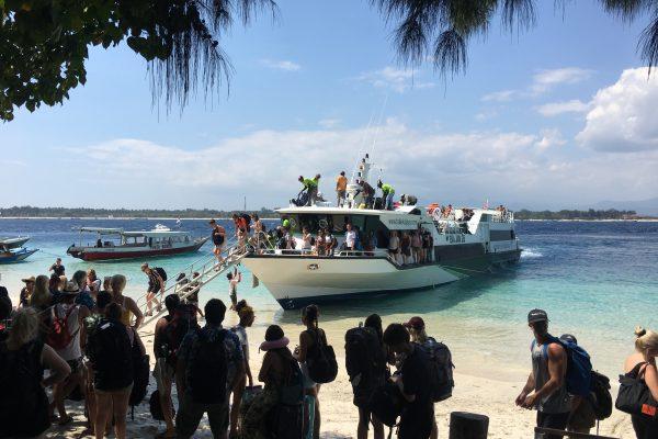 fastboat Bali to Gili island