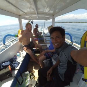 snorkeling trip to Gili trawangan