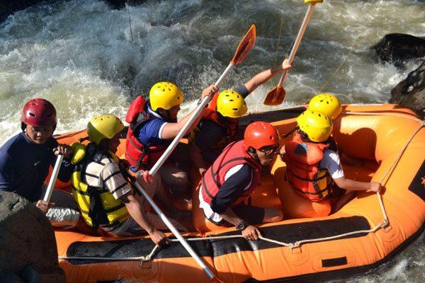 lombok rafting