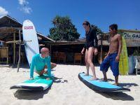 Selong belanak surfing beach